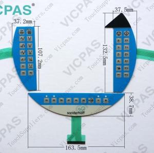 Folientastatur für Folientastaturschalter 5MP050.0653-03