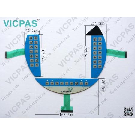 Мембранная клавиатура для мембранного переключателя 5MP050.0653-03