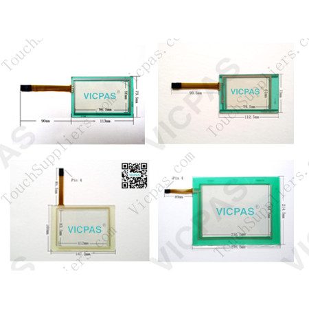 Touch panel screen for HCJ015.8200.930.0 touch panel membrane touch sensor glass replacement repair
