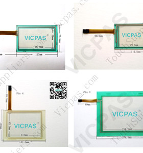 New!Touch screen panel for 015.8110.935.0 touch panel membrane touch sensor glass replacement repair