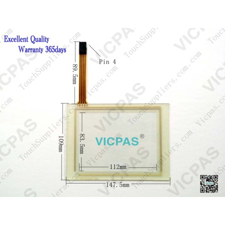 Touch panel screen for XT105T touch panel membrane touch sensor glass replacement repair