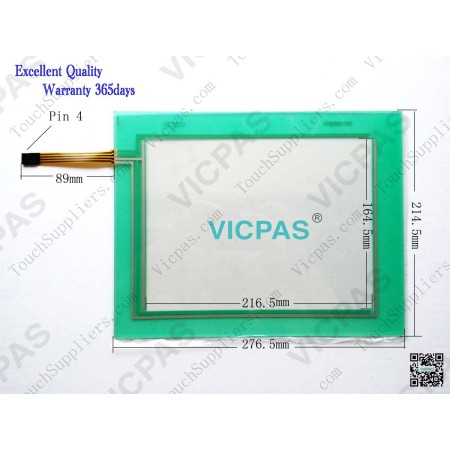 Touchscreen panel for VT585W BPT00 touch screen membrane touch sensor glass replacement repair