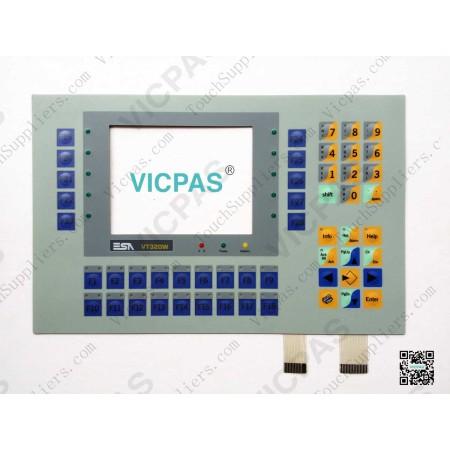 Membrane keypad for VT320W membrane keyboard switch