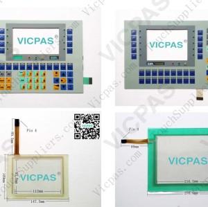 Folientastatur für VT050 00000 Folientastaturschalter