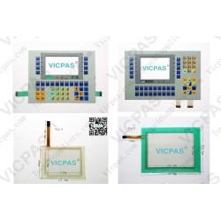Interruptor de membrana para teclado de teclado de membrana VT150W 000DP