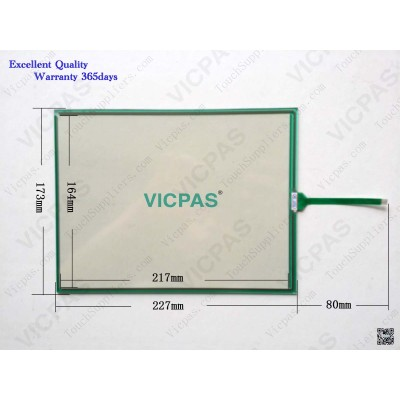 Touch panel screen for AST-104A080A touch panel membrane touch sensor glass replacement repair