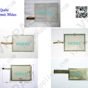 Touch panel screen for N010-0554-X122/013G touch panel membrane touch sensor glass replacement repair