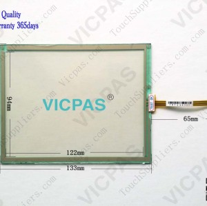 Touch panel screen for PWS6600S-N touch panel membrane touch sensor glass replacement repair