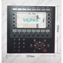 Interruptor de membrana para teclado de teclado de membrana E600 04390A