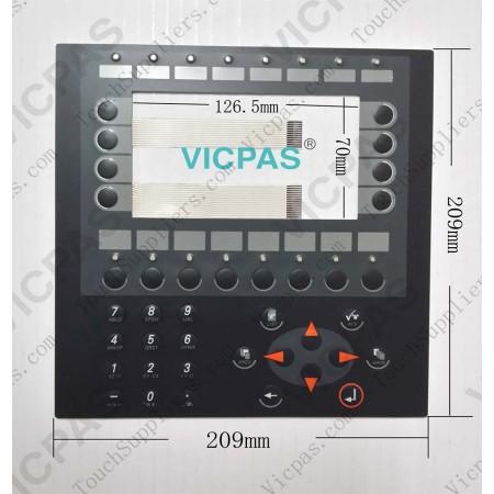 Membrane switch for E600 04390A membrane keypad keyboard