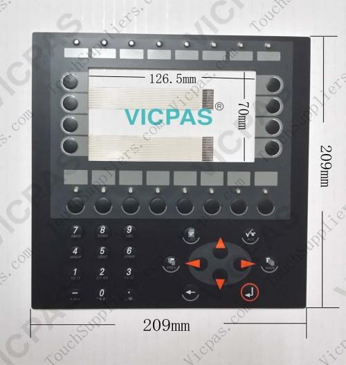 Membranschalter für Folientastatur E600 04390A