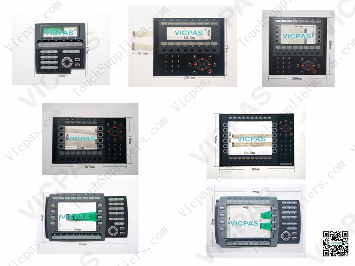 Beijer EXTER K30 Membrane Keypad Switch Keyboard for Beijer EXTER K30