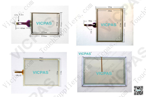 Touchscreen panel for Mobile data terminal TREQ-M4 touch screen membrane touch sensor glass replacement repair