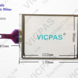 Touch screen for EXTER E615 touch panel membrane touch sensor glass replacement repair