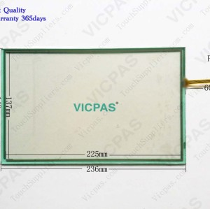 Touchscreen panel for NB10W-TW01B touch screen membrane touch sensor glass replacement repair
