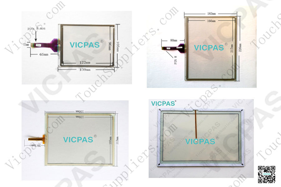 Touch screen panel for QTERM-G75 touch panel membrane touch