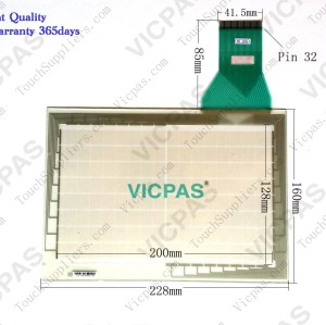 Touch screen panel for NT600S-ST121-EV3 touch panel membrane touch sensor glass replacement repair