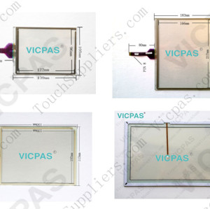 Touch screen panel for QTERM-A12 touch panel membrane touch sensor glass replacement repair