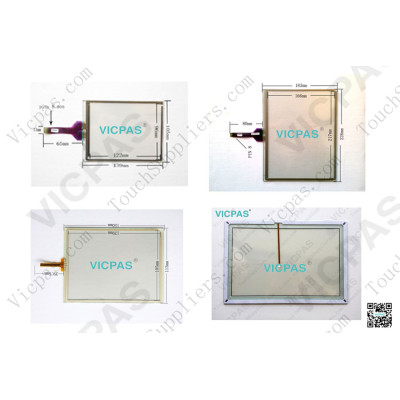 Touch panel screen for Mobile data terminal TREQ-M4x touch panel membrane touch sensor glass replacement repair