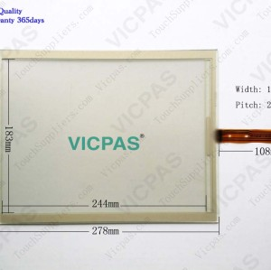 Touch screen panel for 6AV7 812-.....-.A.0 PANEL PC 877 12 TOUCH touch panel membrane touch sensor glass replacement repair