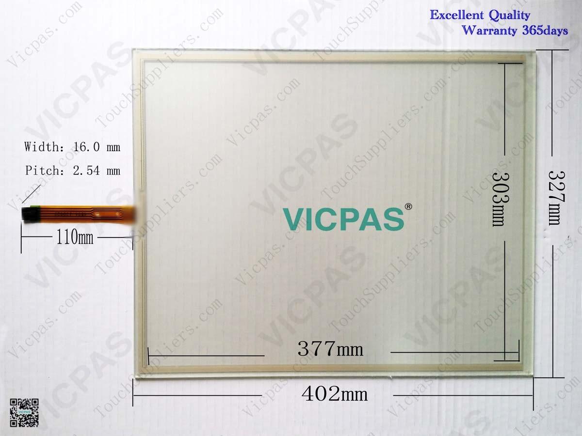 6AV7824-0A..0-.A.0 Touch glass screen panel