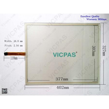 6AV7856-.....-..B1 Touch panel glass screen