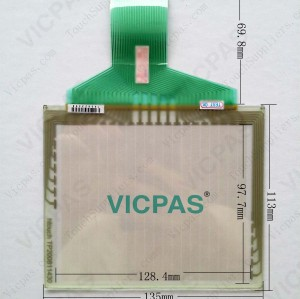 Touch screen panel for F940GOT-LWD-C touch panel membrane touch sensor glass replacement repair