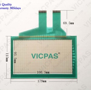 Touch screen for F940WGOT-TWD-C touch panel membrane touch sensor glass replacement repair
