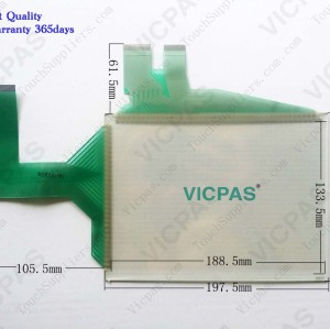 Touch panel screen for GT1562-VNBD touch panel membrane touch sensor glass replacement repair