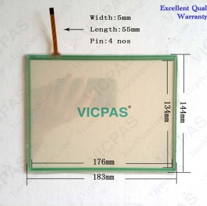 Touch screen for GT1265-VNBA touch panel membrane touch sensor glass replacement repair