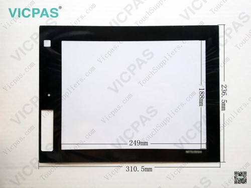 Touchscreen für GT1685-STBD-Touchscreen-Membran-Touchsensor-Glasersatzreparatur
