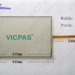 6AV7863-3AB10-0AA0 Touch screen glass panel repairing