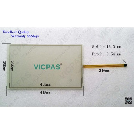 Touch screen panel for 6AV7863-3MA00-0AA0 IFP1900 FLAT PANEL 19