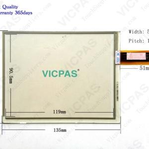 6AV6 545-01115-2AX0 Touch glass screen panel