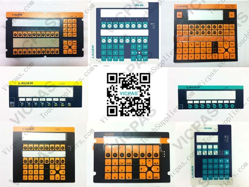Membrane keypad for LCA325 membrane keyboard switch | VICPAS