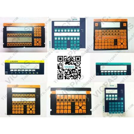 Membrane keyboard for WOP-IT X 550TC membrane keypad switch