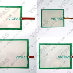Touch panel screen for N010-0551-T142 touch panel membrane touch sensor glass replacement repair