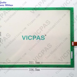 Touchscreen panel for N010-0510-T222/N010-0510-T222 Touchscreen panel