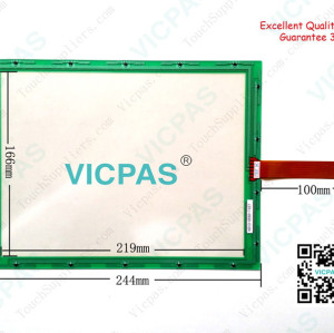 Touch screen for N010-0551-T627 touch panel membrane touch sensor glass replacement repair