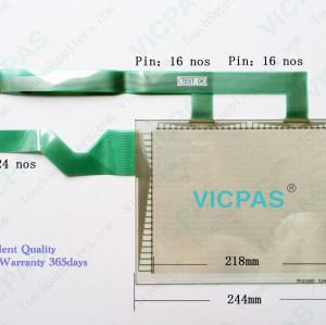 Touch Screen for IDEC HG3F-FT22TF-B HG3F-FT22TF-W HG3F-FT22VF HG3F-FT22VF-W Touch Panel Membrane Touch Screen Monitor Replacement Repair