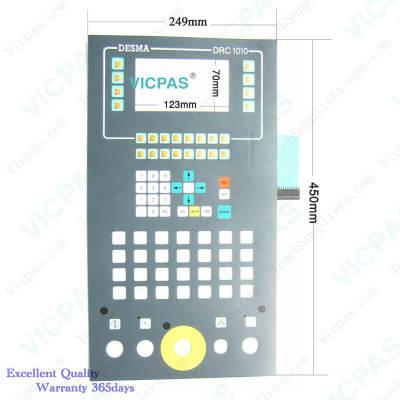keyboard  Membrane DESMA DRC 1010 Membrane keypad