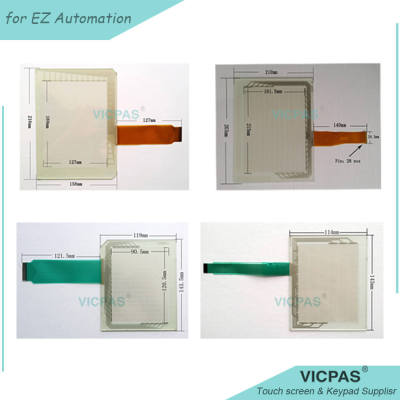 EZW-T15C-EP Touch Screen Panel glass