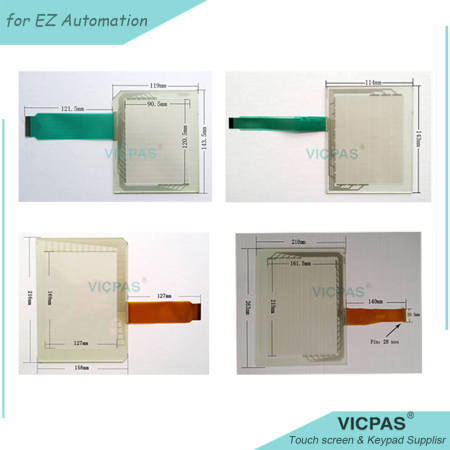 EZW-T15C-ED Touch Screen Panel Repair