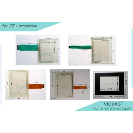 EZ3-T7C-E Touch Screen Glass EZ3-T8C-E Touch Panel