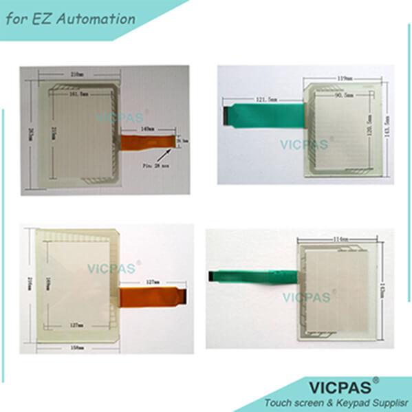 Touchscreen for EZ-15M / EZ-17M repair