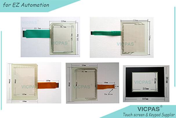 EZW-T10C-E-SUN HMI touch glass