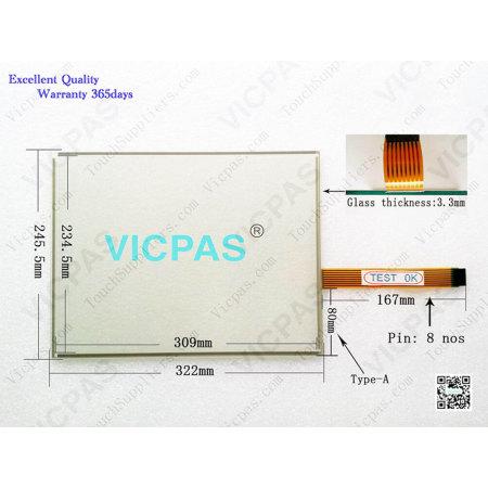 2711P-B15C10D2 Touch Panel 2711P-B15C10D2 Membrane Keypad