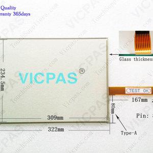 2711P-B15C4A8 Touch Screen Panel 2711P-B15C4A8 Membrane Keypad