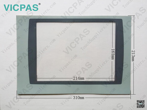 Front overlay lable cover 2711P-T10C10D6