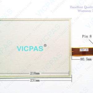 2711P-T10C10D2 Touch Screen Glass Panel
